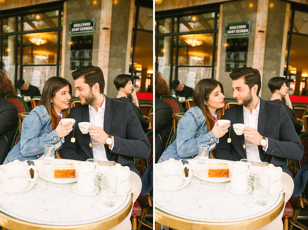 paris couple shoot photos