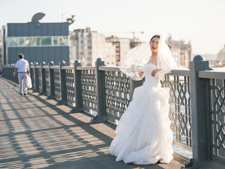 Istanbul honeymoon photography - Larissa + Alfred