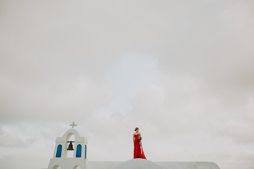 greek islands pre wedding photos
