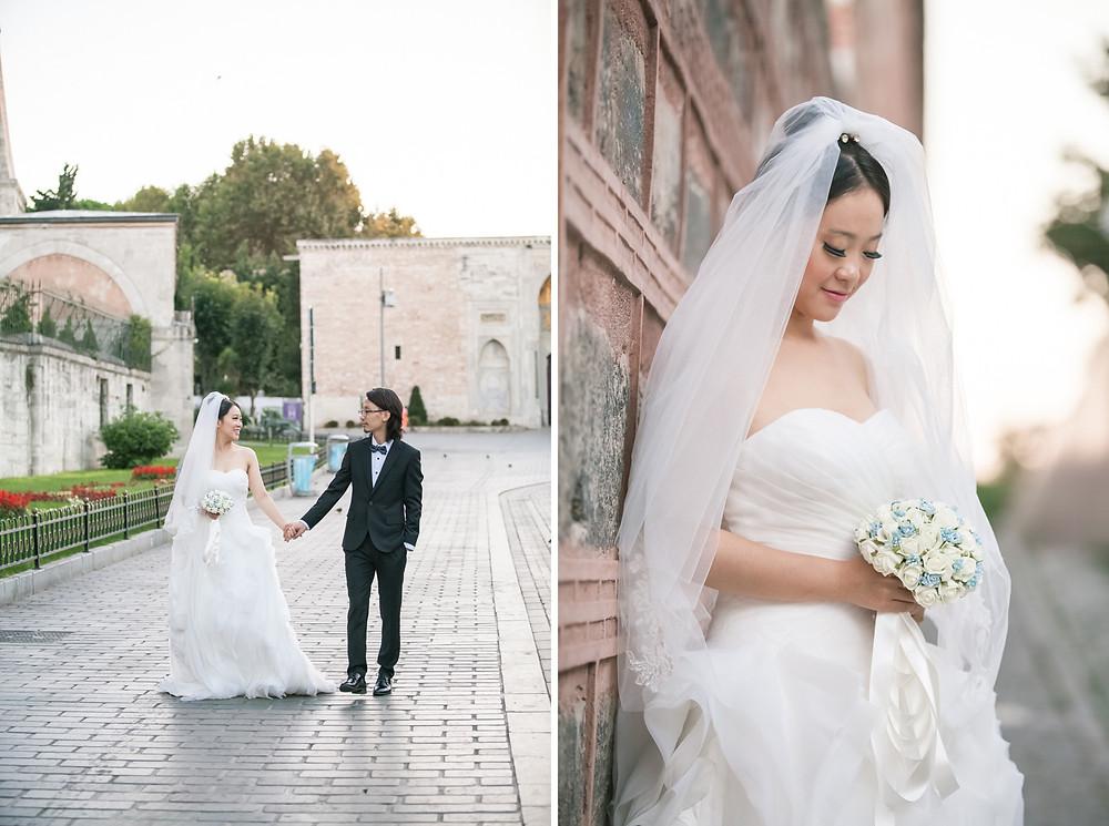 istanbul sultanahment prewedding photographer