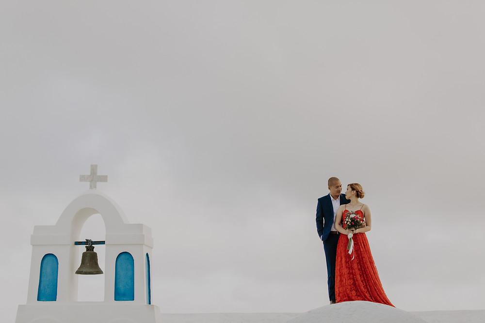 greek islands pre wedding photography