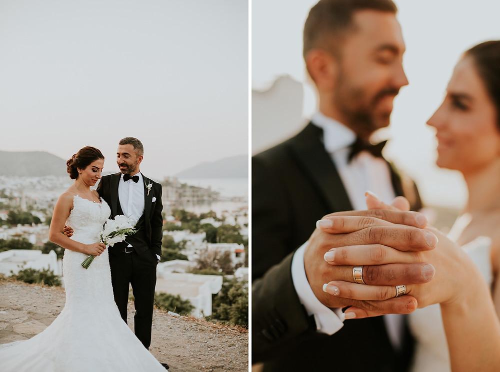 Bodrum düğün dış çekim