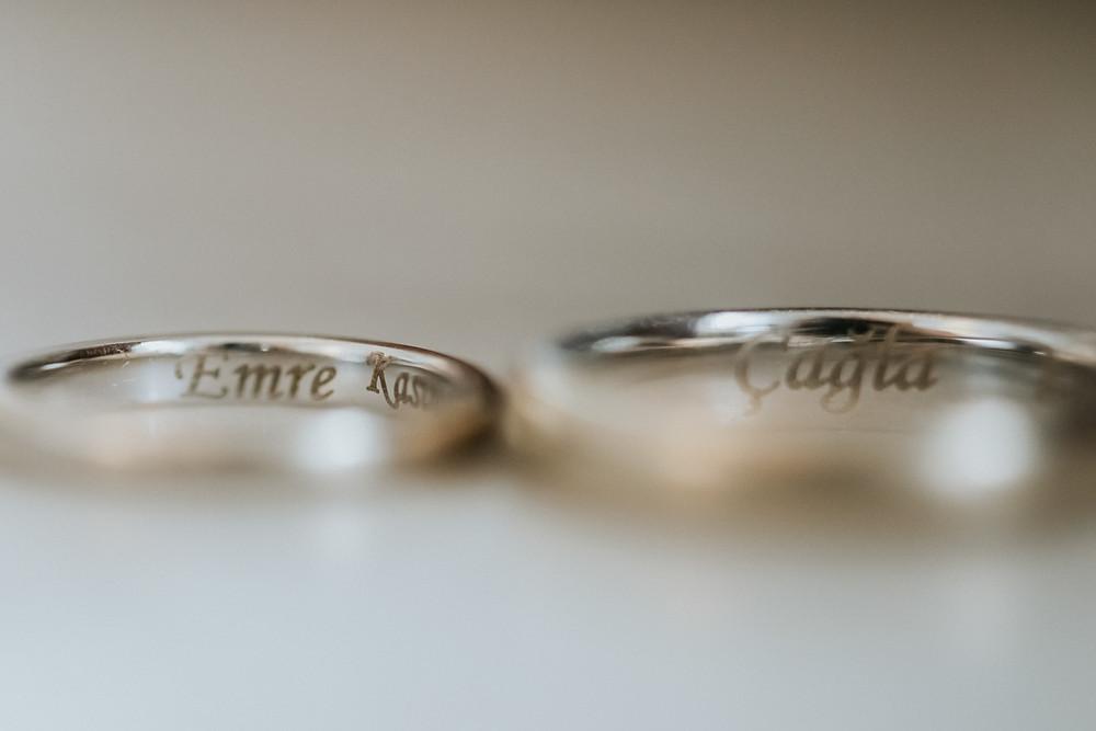 splendid palas düğün yüzük detay