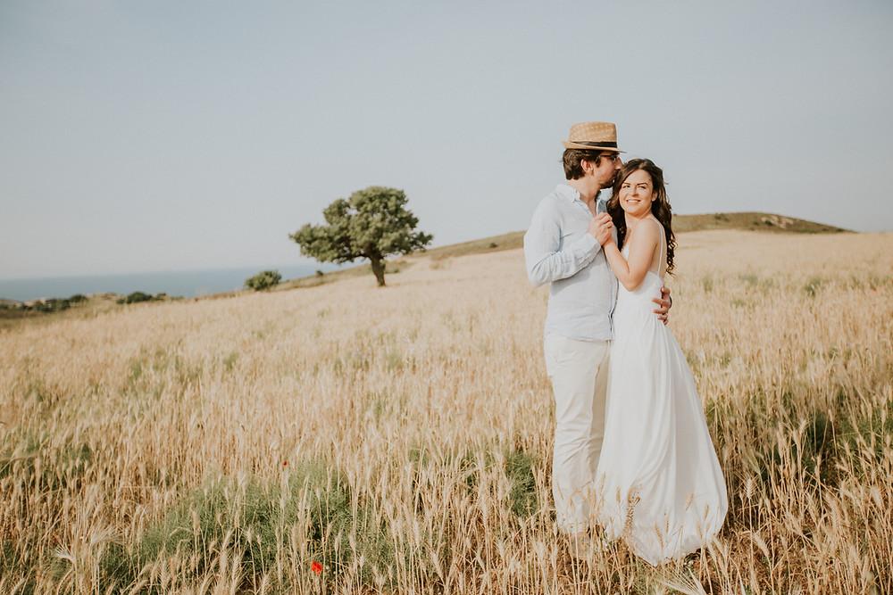 Bozcaada düğün hikayesi fotoğrafları
