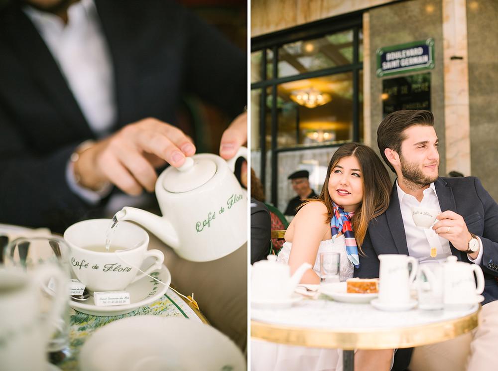 cafe de flore paris photos