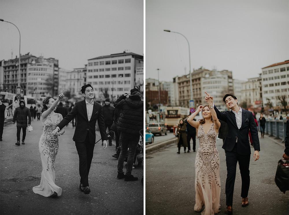 Istanbul engagement photos