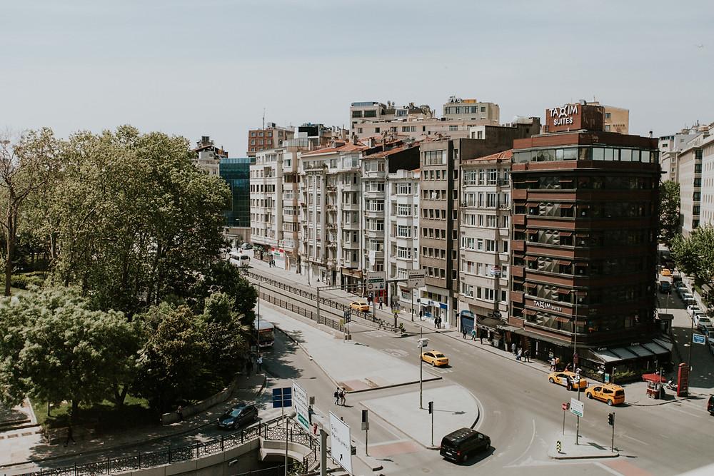 Taksim Divan oteli düğün hazırlık