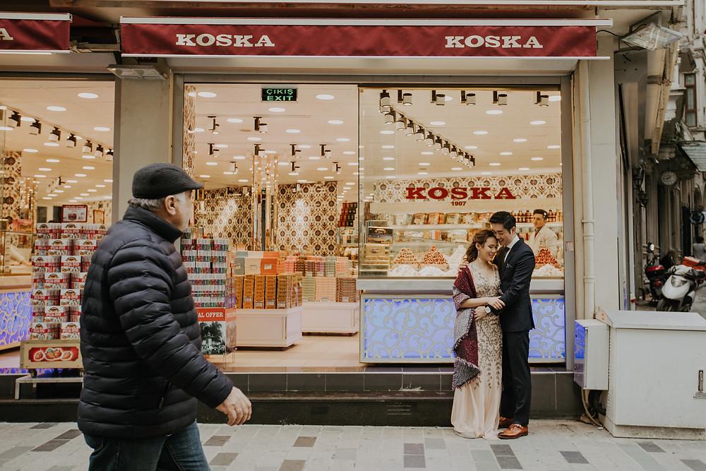 Istanbul couple photography