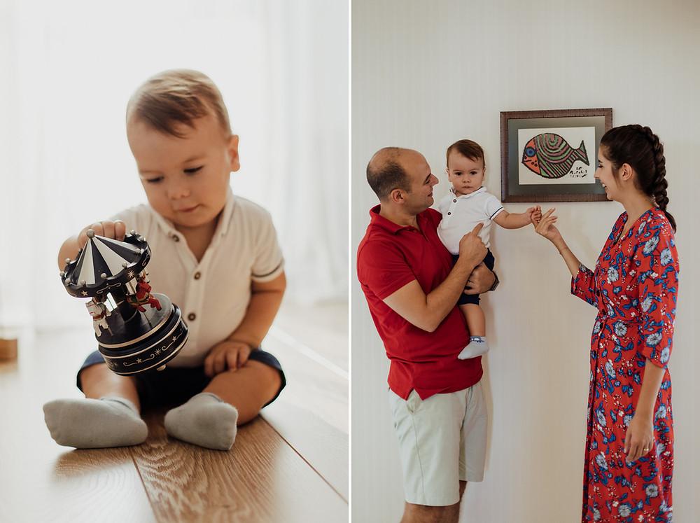 doğal aile fotoğraf çekimi