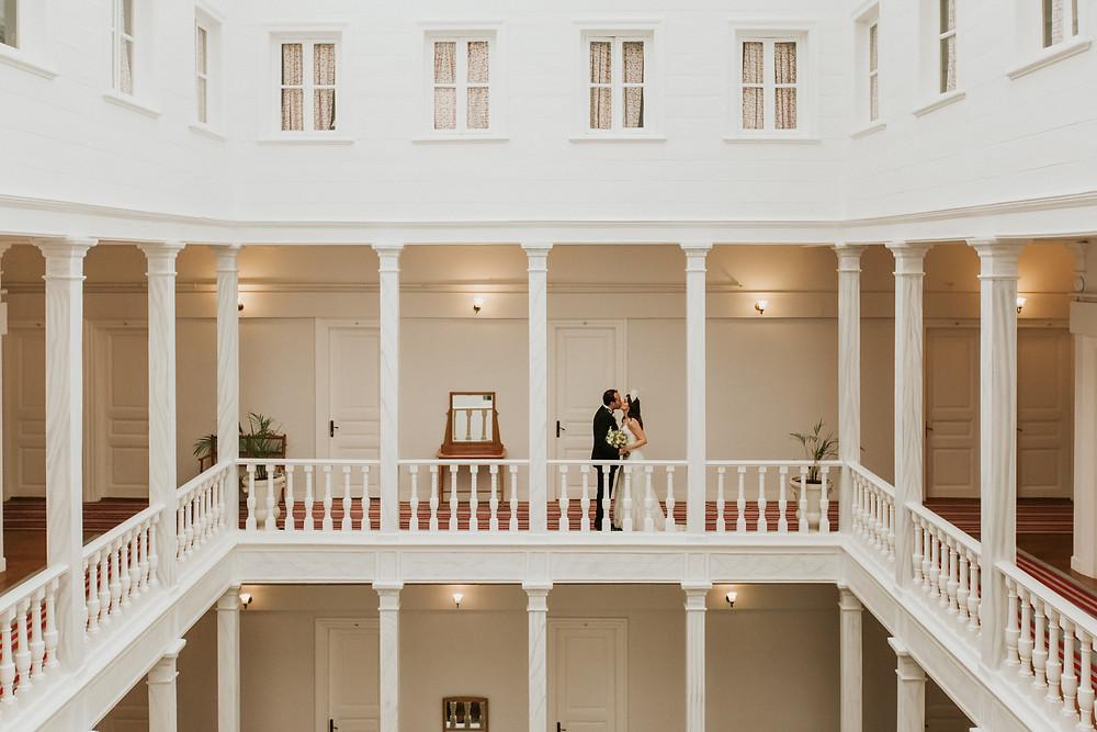 Büyükada Splendid Palas hotel düğün fotoğrafı
