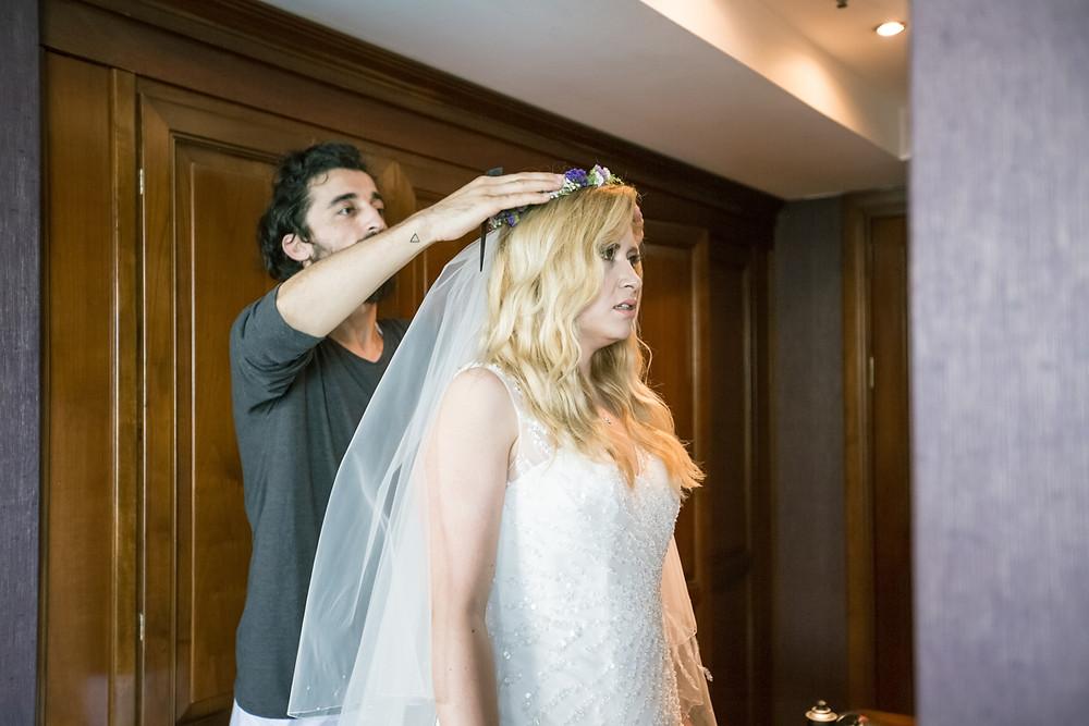 düğün günü hazırlık fotoğrafları
