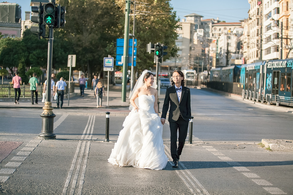 istanbul destination wedding photos