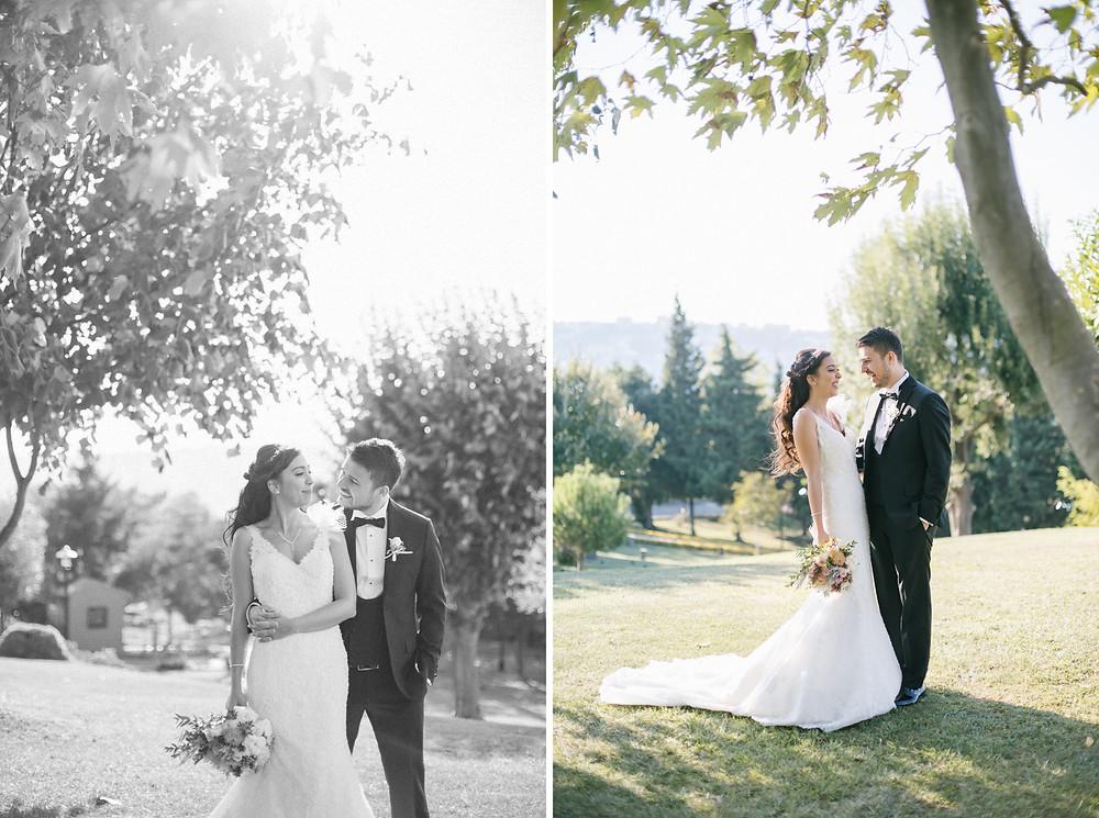 Cemile Sultan Korusu düğün fotoğrafı