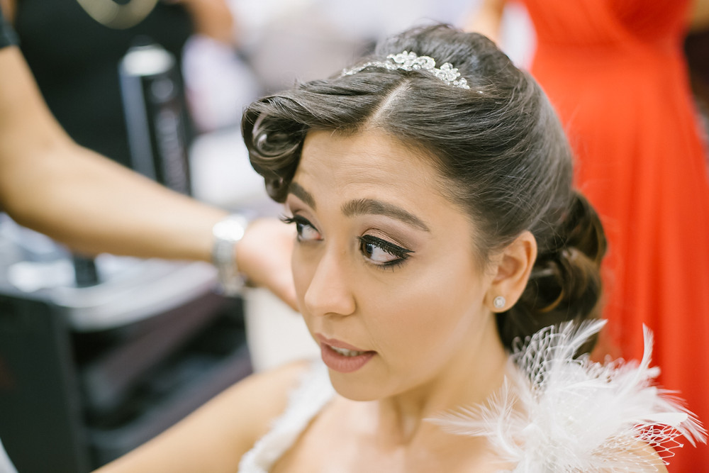 Istanbul belgesel düğün fotoğrafları - hazırlık