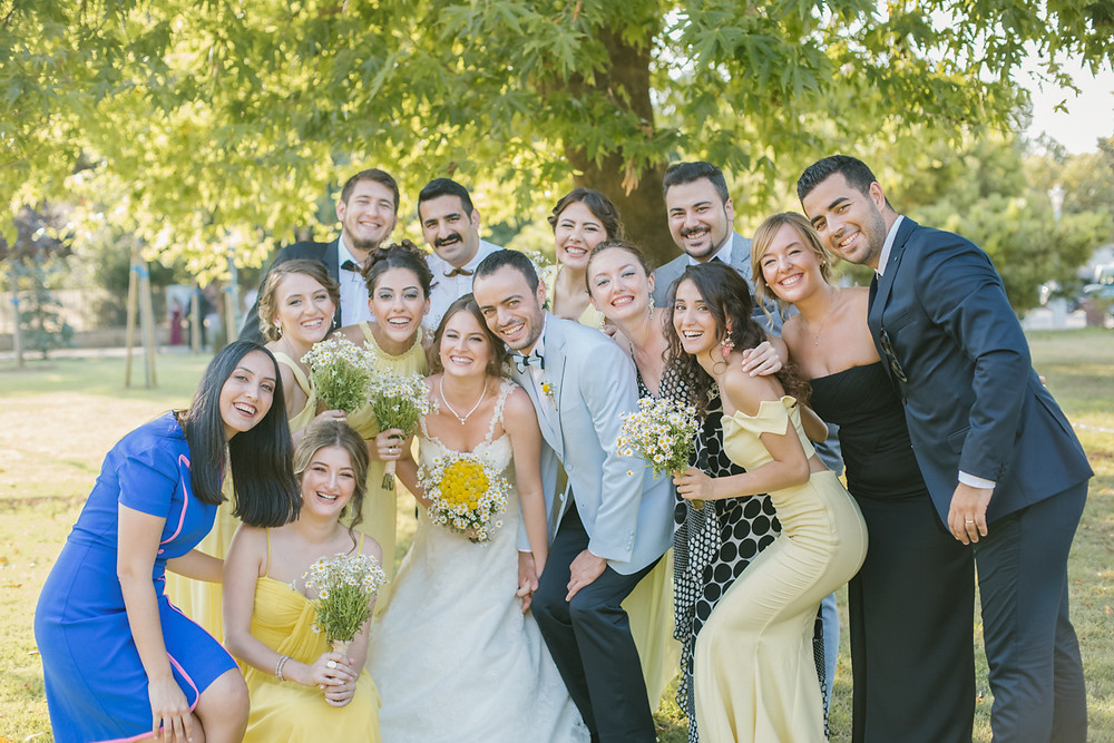 fenerbahçe parkı düğün dış çekim