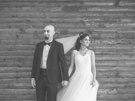 Burcu + Amir / A metal wedding in Istanbul