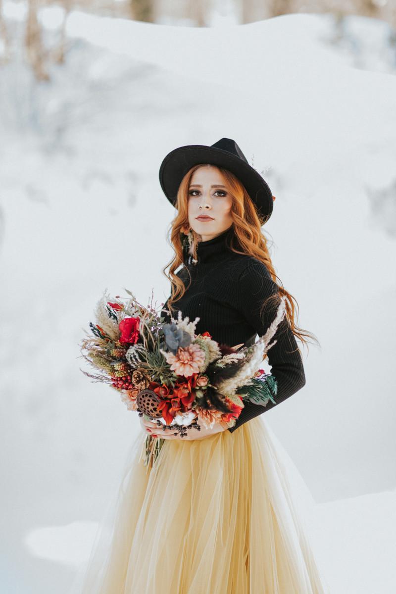 istanbul kış düğün fotoğrafları
