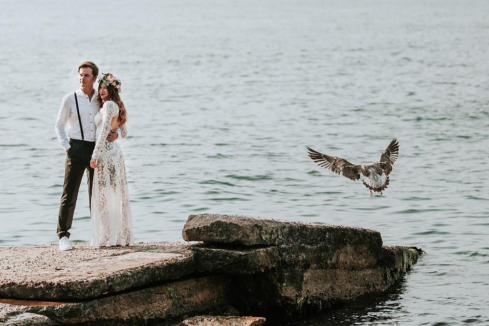 Istanbul Save the Date fotoğrafları
