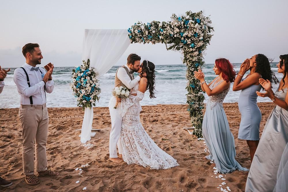 şile plaj düğünü fotoğrafları
