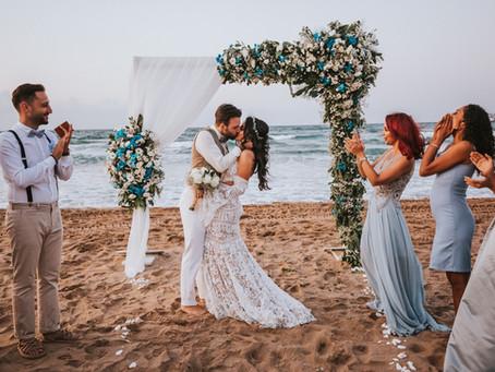 Şile kumsal düğünü hikaye fotoğrafları / Mina & İlker