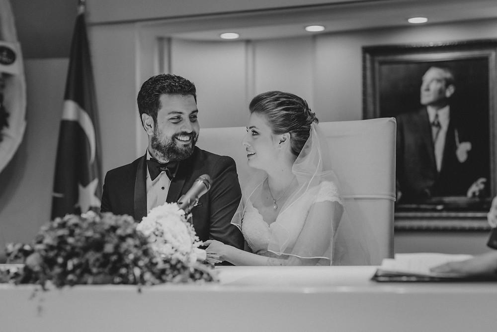 İstanbul Şişli Evlendirme nikah fotoğrafları