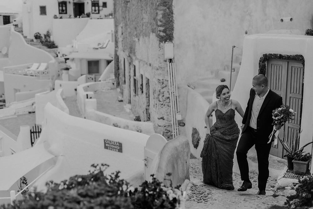 santorini elopement photographer