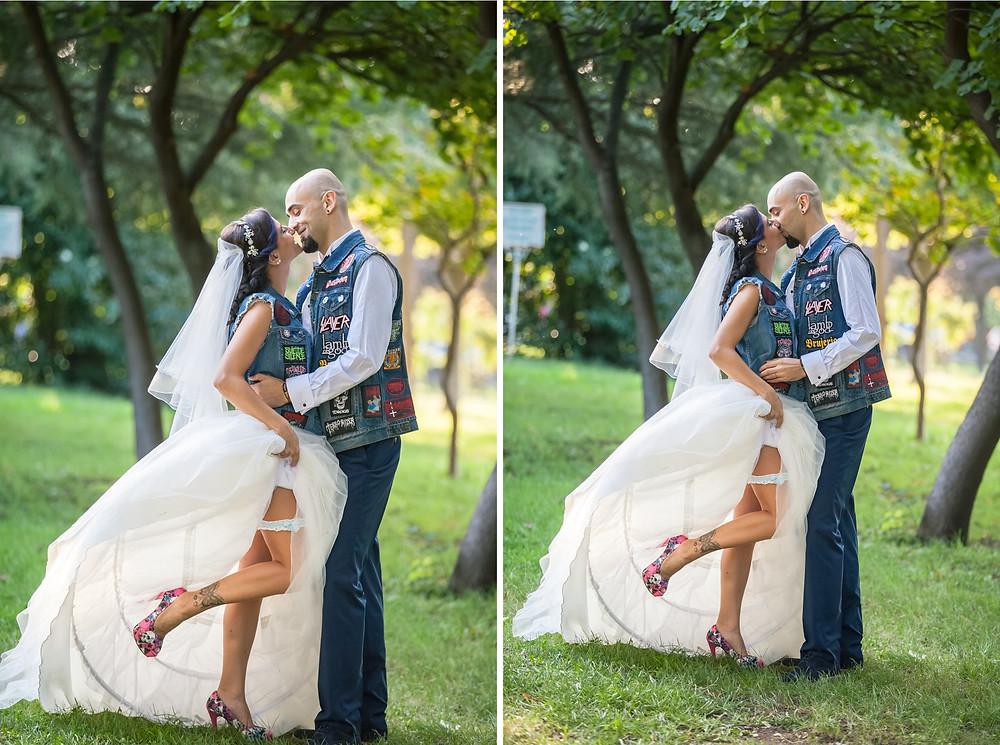 metalci düğün fotoğrafları