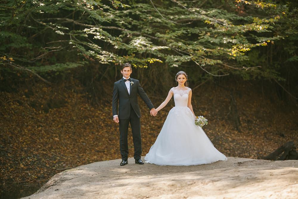 orman düğün fotoğrafları