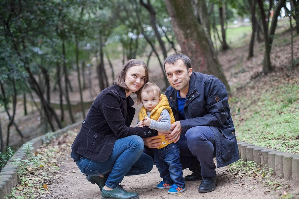 aile fotoğraf çekimi