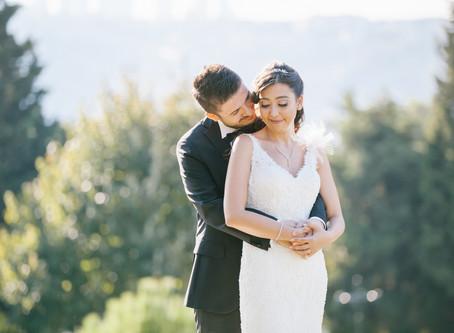 Cemile Sultan Korusu düğün fotoğrafları / Melis + Serhat