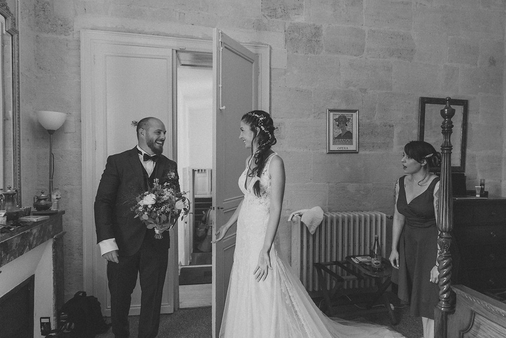 France Bordeaux château documentary wedding photographer