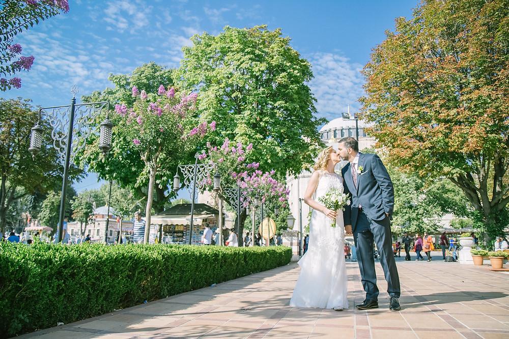 four seasons Bosphorus wedding photographer