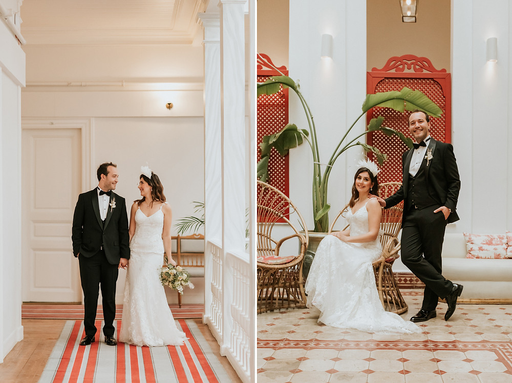 Istanbul Splendid Palace hotel wedding photos