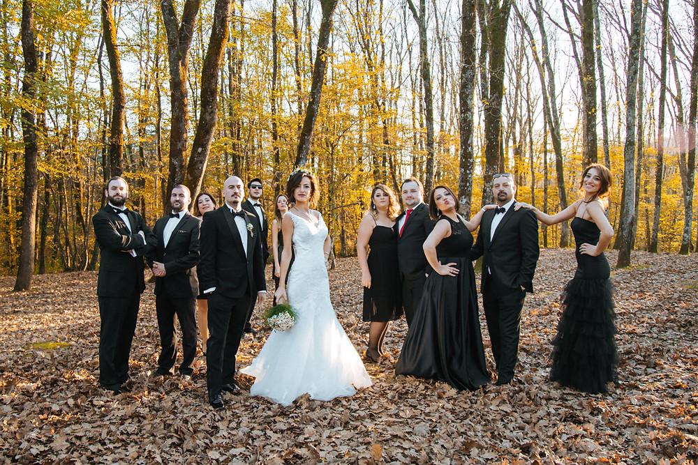 son bahar düğün fotoğrafları