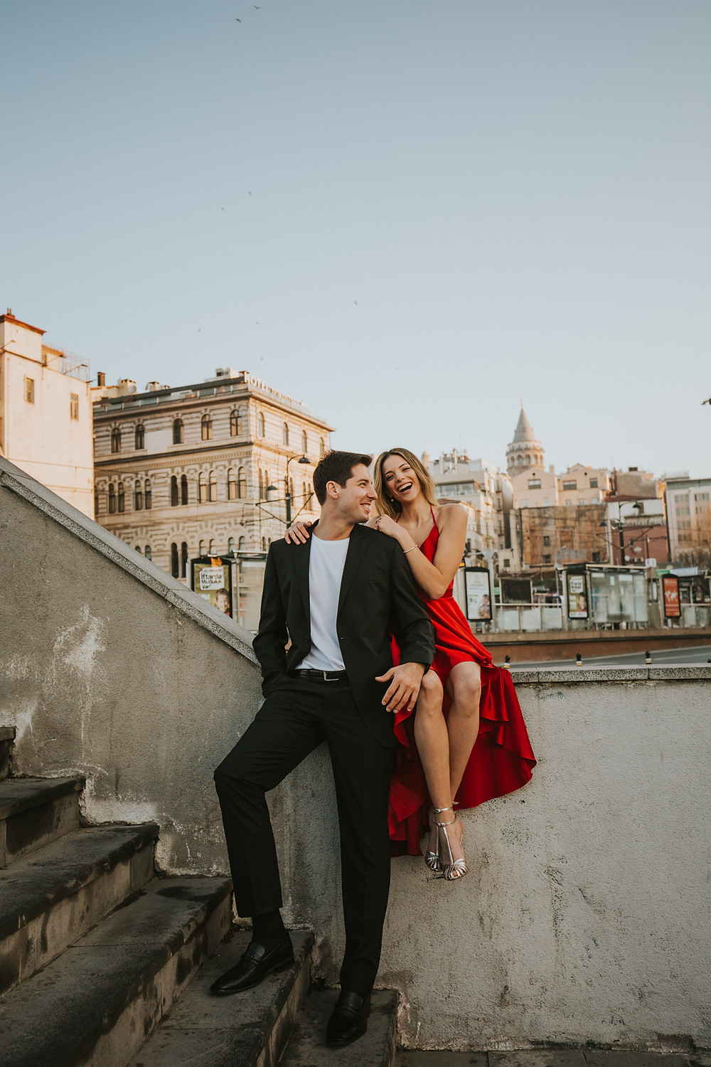Istanbul pre wedding photos