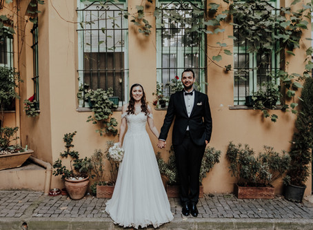 Kuzguncuk Yanık Mektep belgesel düğün fotoğrafları / Merve & Tuna
