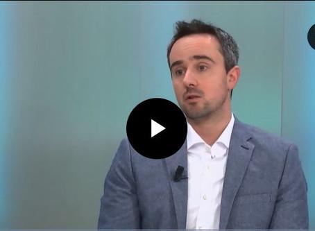 """Nicolas, notre fondateur, était """"l'invité"""" de Tv Com hier !!!"""