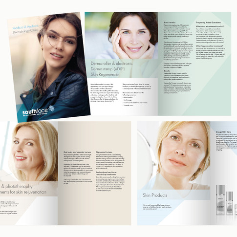 Southface Clinic Brochure designed by Jellicoe Creative www.jellicoecreative.co.uk