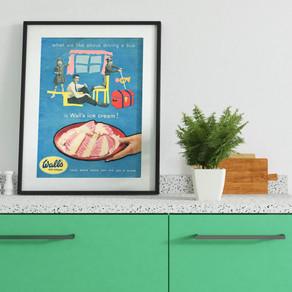 + Wall's Ice Cream Advert, 1957 +