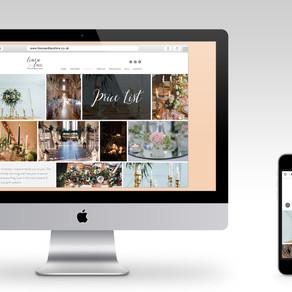 NEW website portfolio page in progress