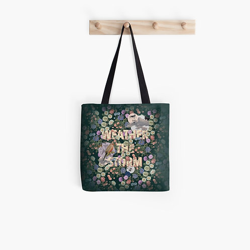 'Weather the Storm' Tote Bag