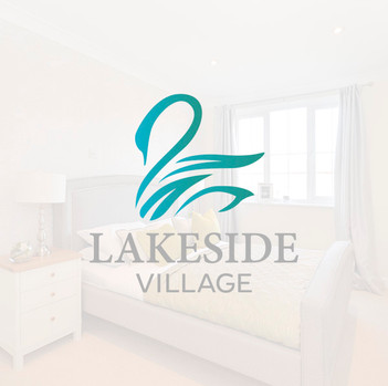 Lakeside Village brand identity Design by Jellicoe Creative www.jellicoecreative.co.uk