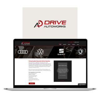 Drive Autoworks Website Design & Branding