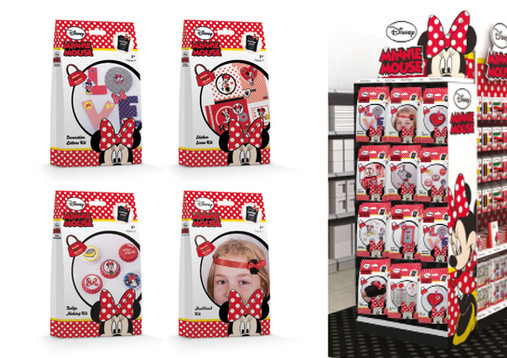 Minnie Mouse Craft Sets