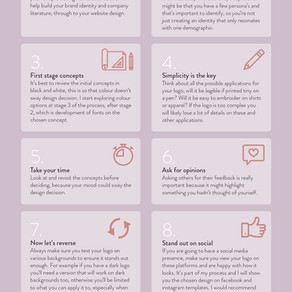 Top 10 things to consider when creating a logo & brand identity