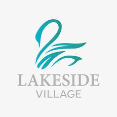 Lakeside Village Logo, Brand Identity & Marketing Materials