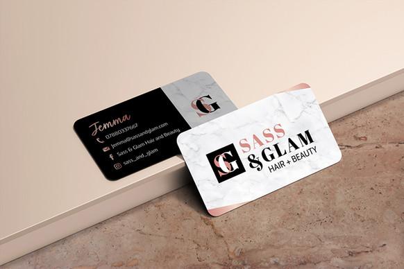 Sass & Glam Brand Strategy & Brand Identity designed by Jellicoe Creative www.jellicoecreative.co.uk