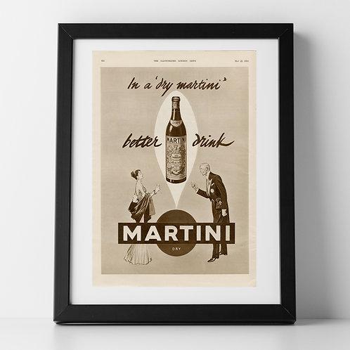 Martini Advert, 1954