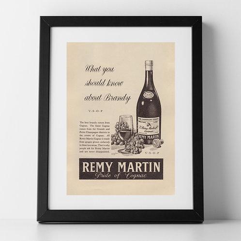 Remy Martin Advert, 1955