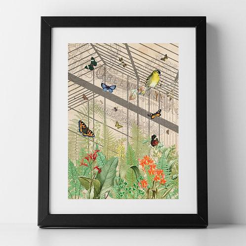 The Botanical Garden A4 Unframed Poster Print
